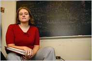 Melanie Wood, former IMO team member and doctoral student at Princeton.