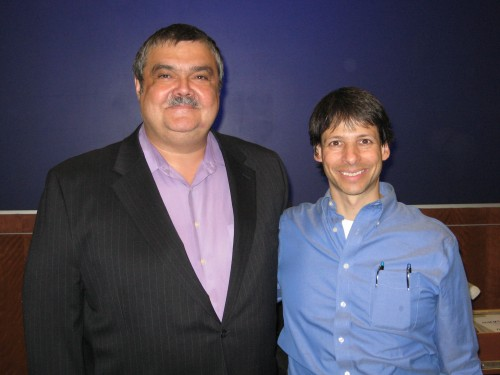 Dr. Titu Andreescu and Dr. Arthur Benjamin
